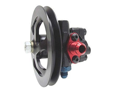 KRC Power Steering KRC 50010000 Cast Iron Pump (with 6in.Alum. V Belt Pulley) ()