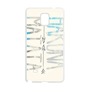 Hakuna Matata simple pattern Cell Phone Case for Samsung Galaxy Note4