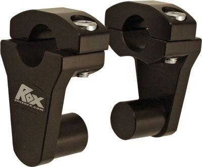 ROX ピボットハンドルライザー ハンドル径22φ用 ブラック B00GY3KT94