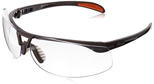 Uvex S4210 Protégé Safety Eyewear, Sandstone Frame, Clear Ultra-Dura Hardcoat - Clear Lenses Ultra