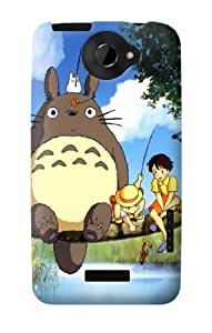 S0875 Totoro and Friends Case Cover for HTC ONE X