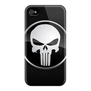 Pretty Uus1980PwCX Iphone 4/4s Case Cover/ The Punisher Series High Quality Case