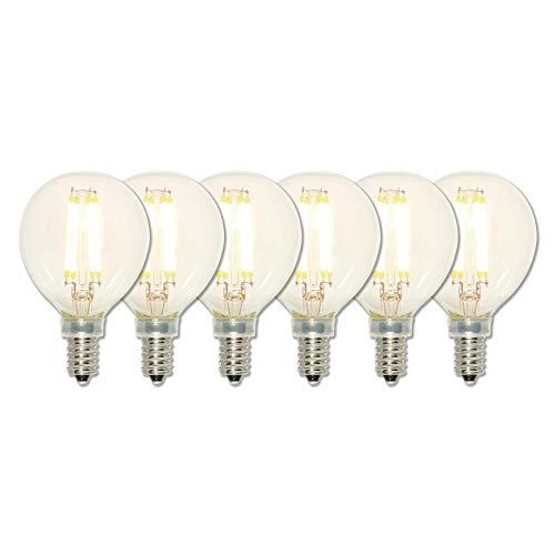 Westinghouse Lighting 5023120 Led Light Bulb, Six Pack, Clear