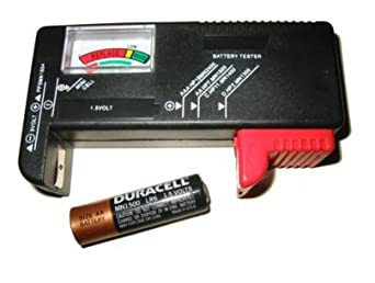 1 Universal Battery Testers(AA, AAA, C, D, 9V) for
