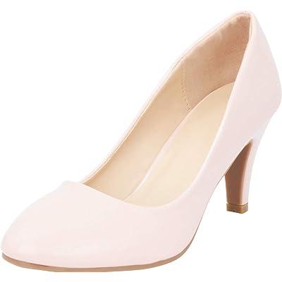 Cambridge Select Women's Classic Mid Heel Pump | Shoes