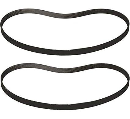 2 Drive V Belts For Ammco Brake Lathe 4000 4100 40141 USA Free Shipping