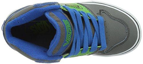 Vans Allred - Zapatillas de deporte para niños unisex Gris (Charcoal/Black/Green)