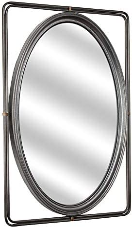 American Art D cor Metal Hanging Wall Vanity Mirror with Bevel 25.25 H x 17.25 L