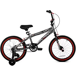 Kent FS18 Abyss 18 FreeStyle BMX Boys Bike Silver