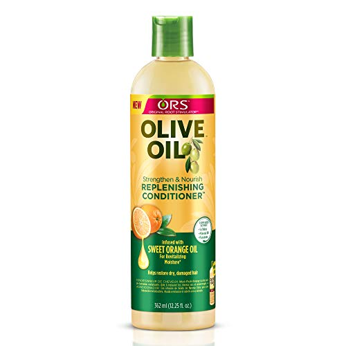 - Organic Root Stimulator Olive Oil Replenishing Conditioner, 12.25 Ounce (Pack of 2)