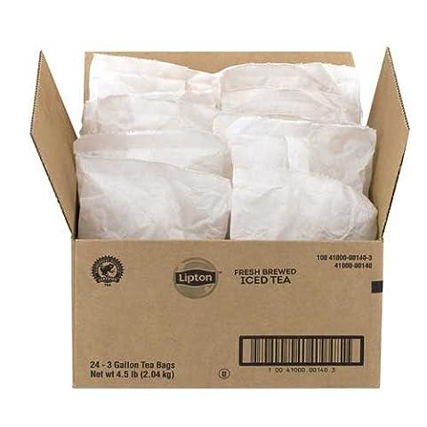 Lipton Unsweetened Smooth Blend 3 gallon Iced Tea 24 count tea bags per case - 3 Gallon Iced Tea