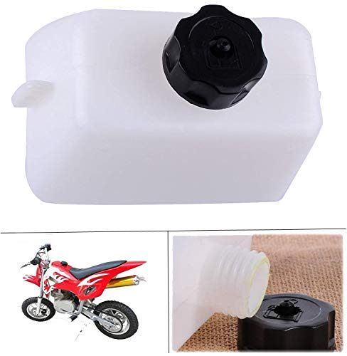 Podoy Mini Bike Gas Tank For Quad Dirt Pocket Atv Scooter 2 Stroke 43cc 45cc 47cc 49cc Fit With 1/4 Fuel Line (Go Kart Fuel Tank)