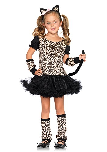 Leg Avenue Children's Little Leopard Costume (Cat Girl Costume)
