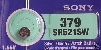 SR521SW Silver Battery Blister Packed product image