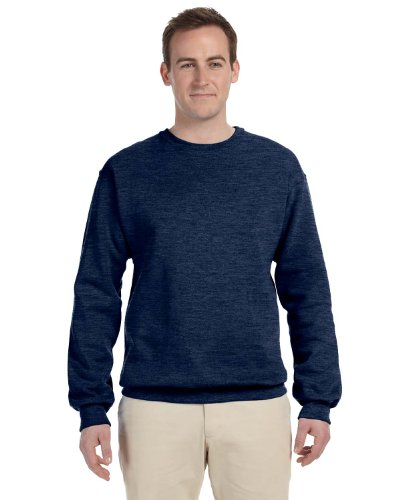 Jerzees Mens Nublend Crew Neck Sweatshirt