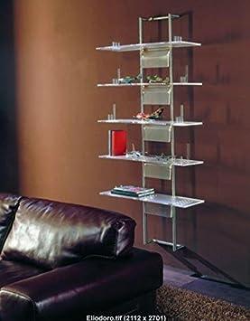 Idea Librerie Design Estantería para ogggetti de colección Eliodoro De Metacrilato Transparente: Amazon.es: Hogar