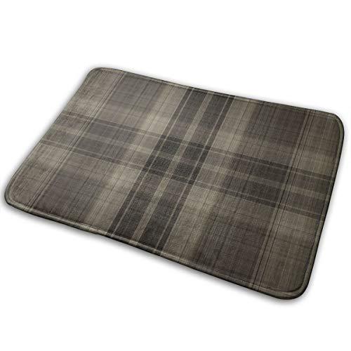 Belived Doormat Custom Machine-Washable Door Mat Farmer Brown's Plaid Shirt Indoor/Outdoor 16 x 24 Inch,40 cm x 60 cm