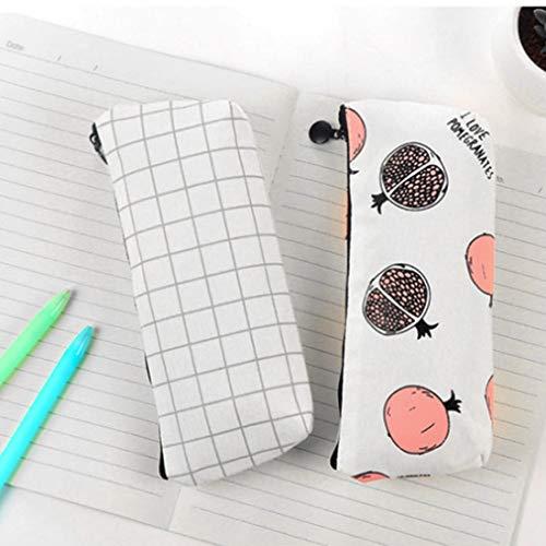 Formulaone capacité bureau cadeau en pratique crayon fournitures scolaires boîte papeterie cuir Grande drôle à étui sac en fruits toile bandoulière ArSwCAq5x