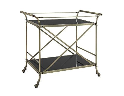 Powell 13K166 Antique Brass Cart (Cart Bar Brass)