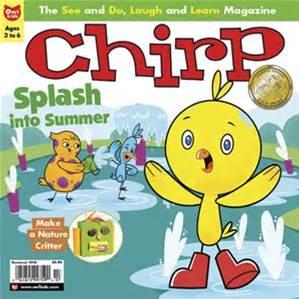 chirp summer 2016 magazine for kids