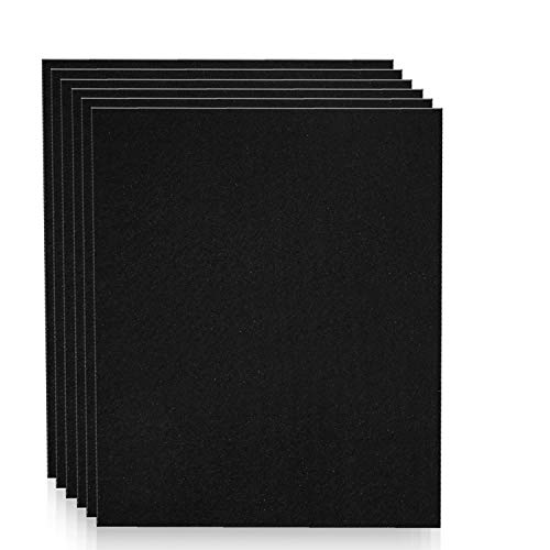 Altec Filters 6 Activated Carbon Pre-Filters Compatible with HPA300 Air Purifier, Premium Quality Replacement PreFilters HW HRF-AP1 Filter A (6 Pack)