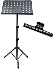 Bison Prosound Professional Commercial grade heavy duty Medium Size Music Stand