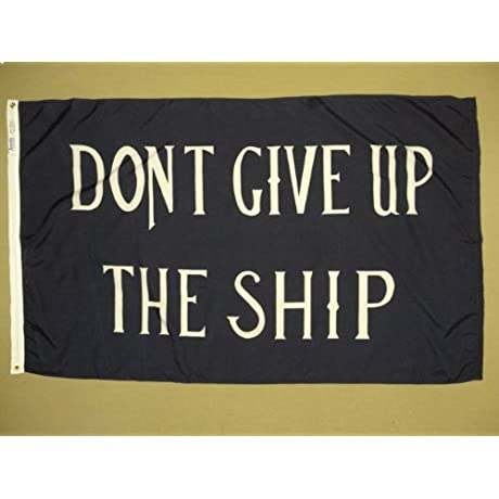 Commodore Perry Flag 3 Ft X 5 Ft