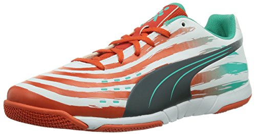 Puma Trovan Lite - Zapatillas Hombre White/Grenadine/Turbulence/Pool Green 9