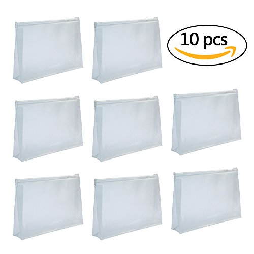 baotongle 10 PCS Mini Small PVC Transparent Plastic Cosmetic