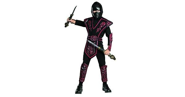 Amazon.com: Rubies Disfraz de ninja guerrero con calaveras ...
