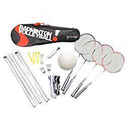 Sterling Sports Badminton/Volleyball Combination Set