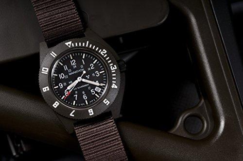 Marathon WW194013SG Swiss Made Military Issue Milspec Navigator Quartz Watch with Date and Tritium Illumination