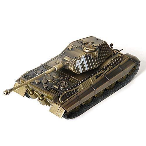 Aircraft Model Kit, Tiger 1:32 Alloy World War Ii German Main Battle Tank Finished Military Decorations
