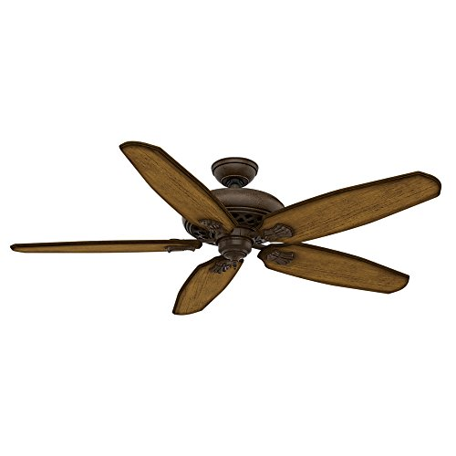 Light Ceiling Provence (Casablanca 55036 Fellini 60-Inch Ceiling Fan with Five Aged Oak Blades and Wall Control, Provence Crackel)