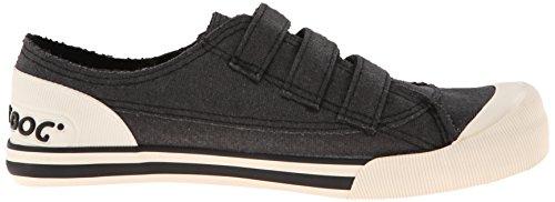 Racchetta Da Donna Jolissa Aviator Canvas Fashion Sneaker Nera