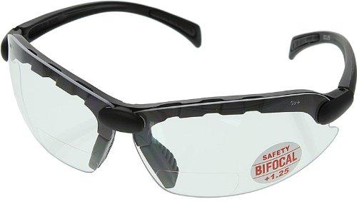 C-2000 Bifocal Safety Glasses 1.25 - CC125