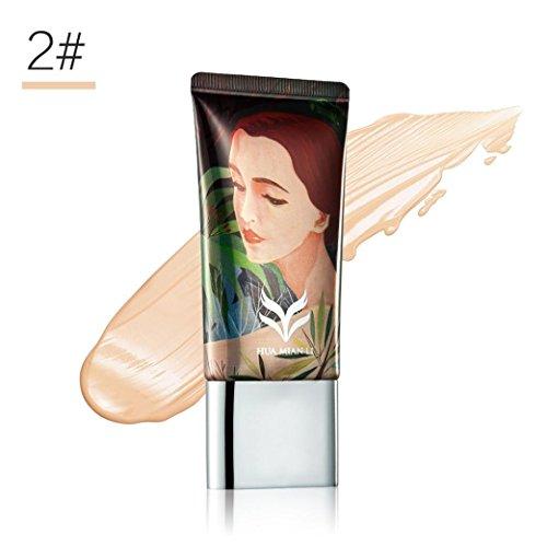 Hunputa Make Up Camouflage Concealer Cream Full Covery Moisturizing Oil-control Waterproof Contour Makeup Face Primer (B)