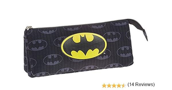 Batman Estuche portatodo Triple, Color Negro, 22 cm (Karactermanía 33538): Amazon.es: Juguetes y juegos