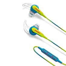 Bose SoundSport in-ear headphones – Apple devices, Neon Blue
