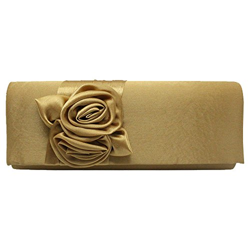 Gold Clutch Bag River Island - 8