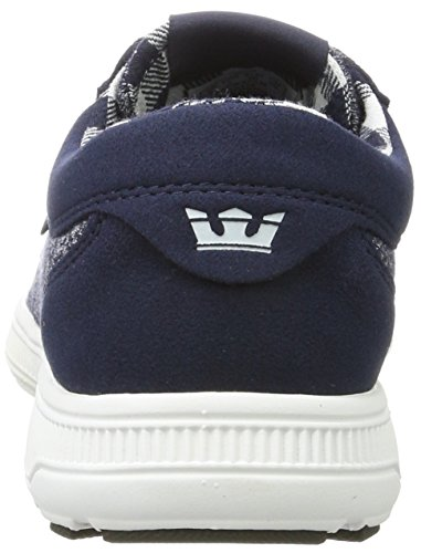 Shoe White Skate Navy Run Hammer Navy Supra White UZcPwqaH