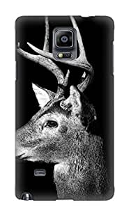 New Steverincon Super Strong Buck In Black And White Tpu Case Cover Series For Galaxy S5