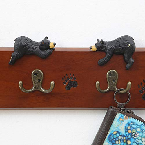 Amazon.com: Hanger, Coat Rack, Solid Wood Bear Type Bedroom ...