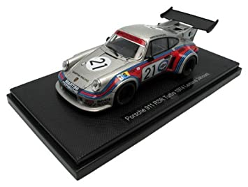 Ebro 1/43 Porsche 911 RSR Turbo Le Mans 1974 # 21 Silver finished product
