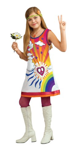 [Rubie's Deluxe Sunshine Dreamer Costume - Medium (8-10)] (60s Dress Up Costumes)