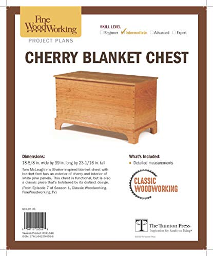 (Cherry Blanket Chest from Classic Woodworking)