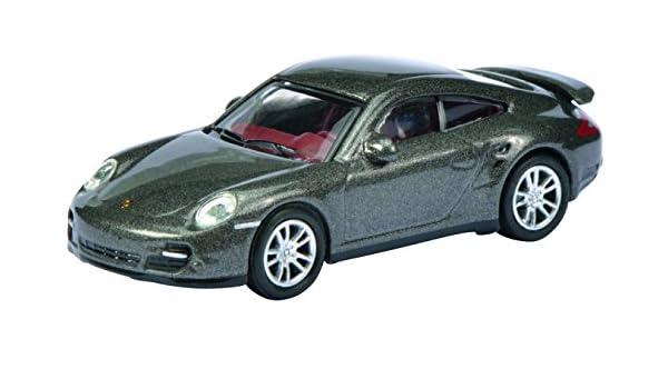 Schuco 452619900 - Porsche 911 Turbo 1:87, Gris Metalizado: Schuco: Amazon.es: Juguetes y juegos