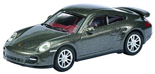 Schuco 452619900 - Porsche 911 Turbo 1:87, grau metallic