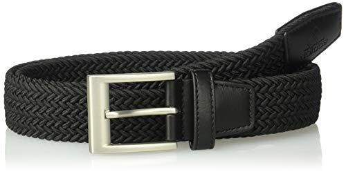 (adidas Golf Braided Stretch Belt, Black, Large/X-Large)