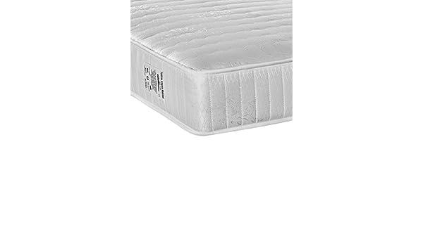 Stones Standard colchón, algodón, Blanco, 160 x 195 x 25 cm: Amazon.es: Hogar